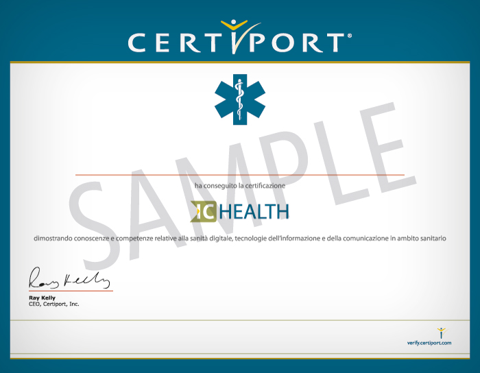 IC Health Certificate